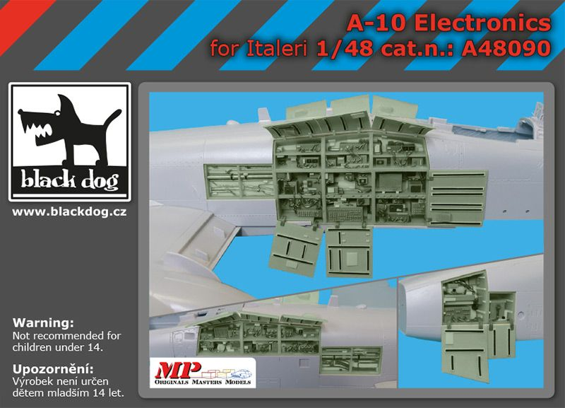 A48090 1/48 A-10 electronics Blackdog