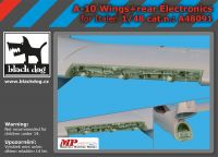 A48091 1/48 A-10 wings + rear electronics