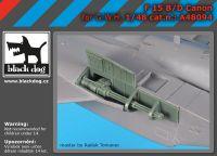 A48094 1/48 F-15 B/D canon