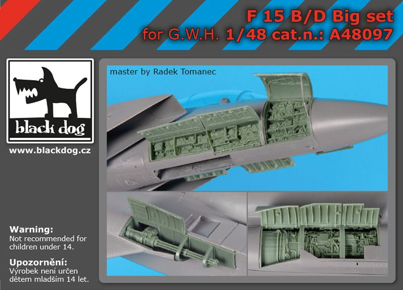 A48097 1/48 F-15 B/D big set Blackdog