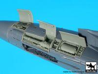 A48100 1/48 F-14 D left electronics + canon Blackdog