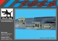A48100 1/48 F-14 D left electronics + canon