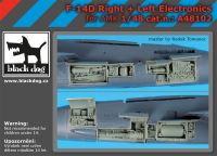 A48102 1/48 F-14 D right +left electronics
