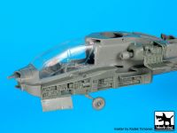 A72079 1/72 AH-64 D Front electronics + engine Blackdog