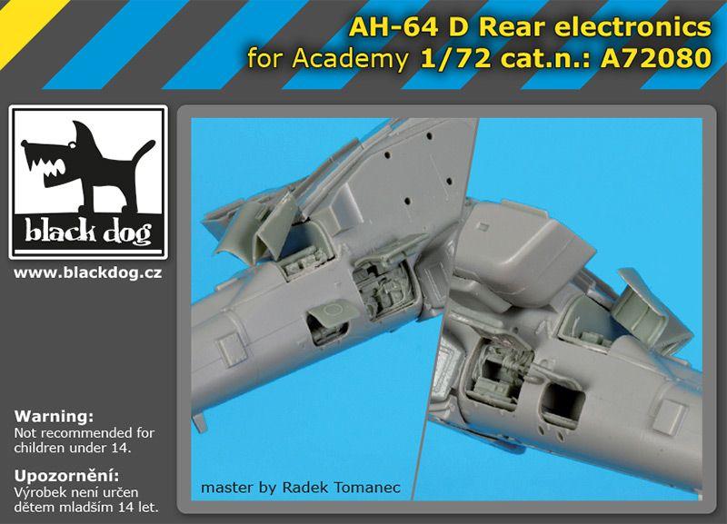 A72080 1/72 AH-64 D Rear electronics Blackdog
