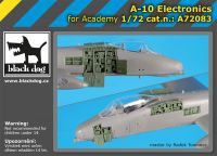 A72083 1/72 A-10 electronics Blackdog