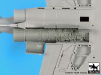 A72087 1/72 F-4 Phantom engine Blackdog