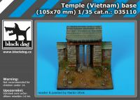 D35110 1/35 Temple (Vietnam ) base