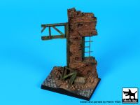 D35113 1/35 Stalingrad factory ruin base Blackdog