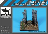 D35114 1/35 Berlin ruin base Blackdog