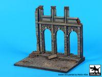 D48002 1/48 House ruin (Europe) base Blackdog
