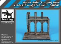 D48002 1/48 House ruin (Europe) base