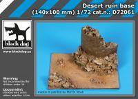 D72061 1/72 Desert ruin base