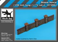 D72062 1/72 Stone fence Blackdog