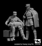 F32085 1/32 Escadrile Lafayette pilot + mechanic set Blackdog