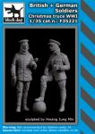 F35221 1/35 British+German soldiers Christmas truce WW I