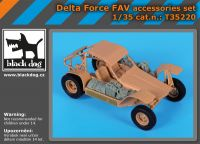 T35220 1/35 Delta Force FAV accessories set