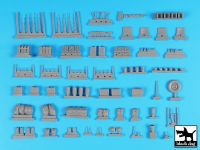 T35224 1/35 British SAS jeep Africa accessories set Blackdog