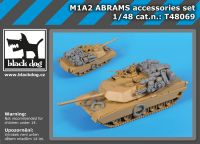 T48069 1/48 M1A2 Abrams accessories set