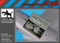 A48105 1/48 F 104 engine