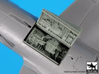 A48105 1/48 F 104 engine Blackdog