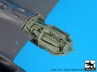 A48114 1/48 P 38 F-G engine Blackdog