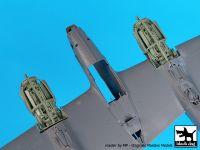 A48115 1/48 P-38 F-G engines Blackdog