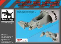 A48121 1/48 Harrier  GR 7 radar+electronics