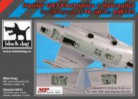 A48123 1/48 Harrier GR 7 electronics+hydraulics