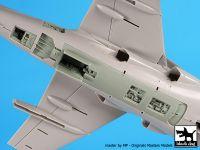 A48124 1/48 Harrier GR 7 big set Blackdog