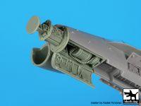 A72090 1/72 F-18 radar+canon Blackdog