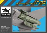 A72092 1/72 F-18 engine
