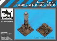 D35116 1/35 Bases (2 pcs.)