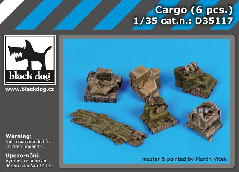 D35117 1/35 Cargo (6 pcs.) Blackdog