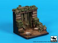D35119 1/35 Vietnam bunker base Blackdog