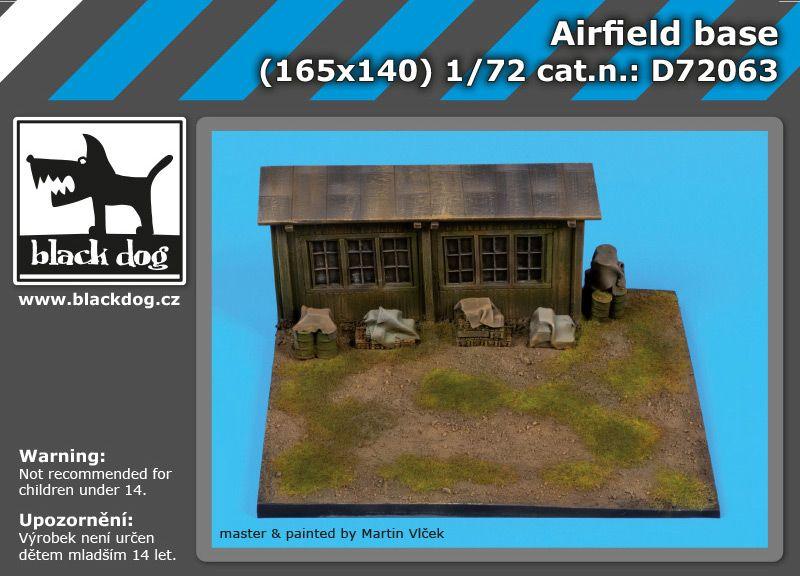 D72063 1/72 Airfield base Blackdog