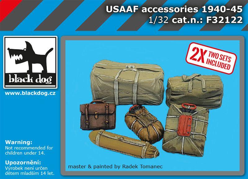 F32122 1/32 USAAF accessories set Blackdog
