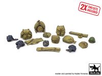 T35225 1/35 Russian Army WW2 equipment accessories set Blackdog