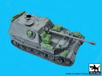 T35227 1/35 German tank Elefant Sd.Kfz 184 accessories set Blackdog