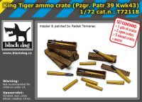 T72118 1/72 King tiger ammo crate
