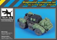 T72124 1/72 Staghound accessories set