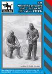 F32134 1/32 RAF mechanics personnel 1940-45 set N°2
