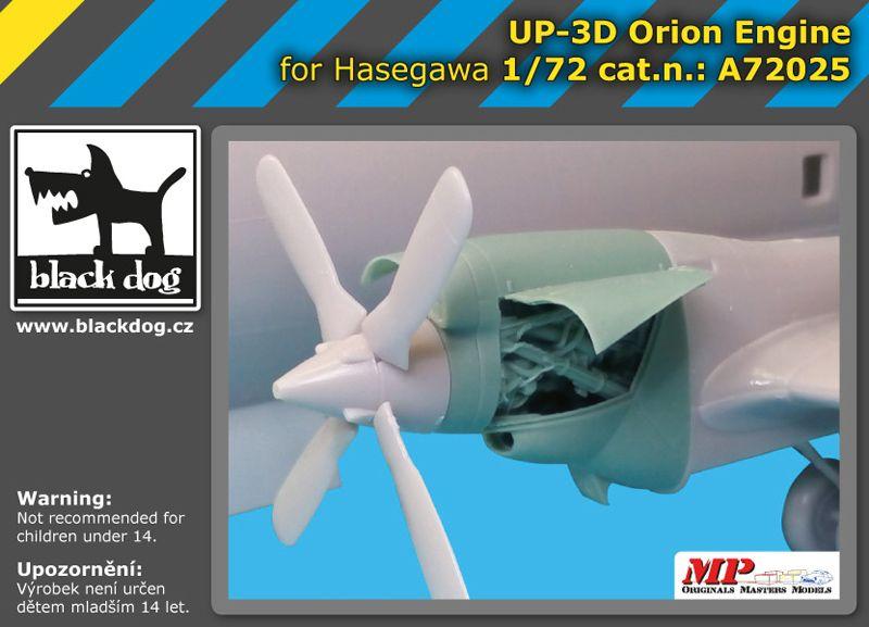 A72025 1/72 UP-3 D Orion engine Blackdog