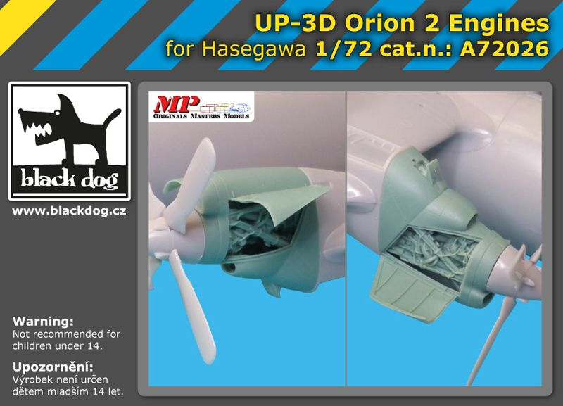 A72026 1/72 UP-3 D Orion 2 engines Blackdog