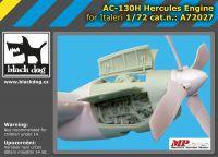 A72027 1/72 AC-130 H Hercules engine
