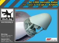 A72029 1/72 AC-130 H Hercules radar