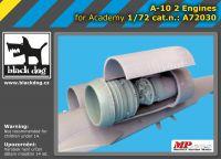 A72030 1/72 A-10 2 engines Blackdog
