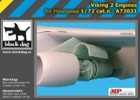 A72031 1/72 Viking 2 engines Blackdog