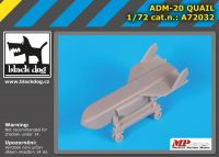 A72032 1/72 ADM-20 Quail Blackdog