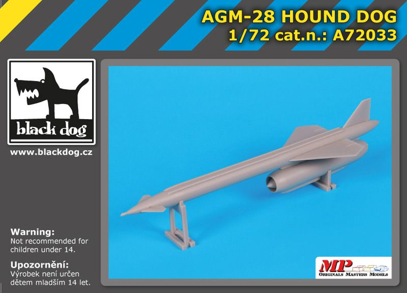 A72033 1/72 AGM- 28 Hound Dog Blackdog